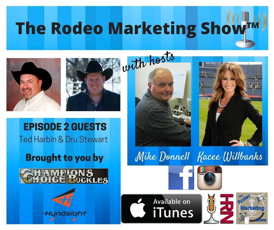 Rodeo Marketing 2 – Marketing and Media Relations with Dru Stewart and Ted Harbin