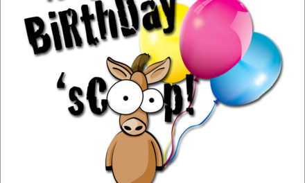 Stable Scoop 415 by Equestrian Collections – 8th Birthday Celebration, 4,900 HRN Episodes