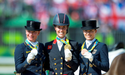 Dressage 377 – Olympic Wrap and a Taste of Grand Prix with Janet Foy