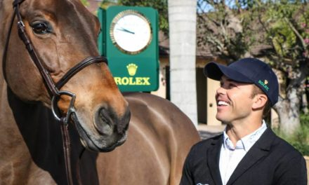 08-02-2016 Ece Equestrian Jumping by Walsh Products – Run Down to Rio, Performance Coach Becker, Voltaire Smart Saddle