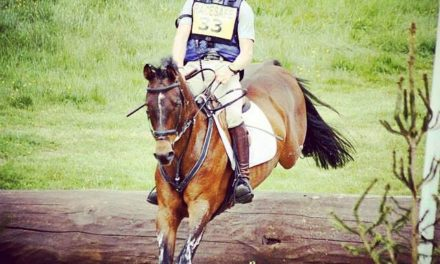 Eventing 424 by Bit of Britain – Liz & Paul – European Young Riders Felicity Collins and Sam Ecroyd