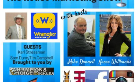 Rodeo Marketing 13 – PRCA Commissioner Stressman on Pink Shirts, Dunn and Campbell on The Wrangler Network