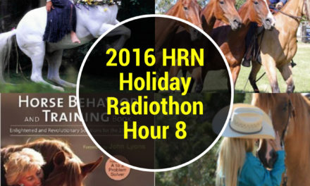 Hour 8 – 4pm-5pm 2016 HRN Holiday Radiothon by Weatherbeeta – Stable Scoop Hour