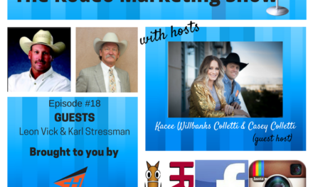 Rodeo Marketing 18 – National Western Stock Show and the American Flag Feather