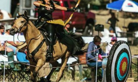 HITM 05-15-2017 by Omega Alpha Equine – Diana's Mounted Archery Adventures, Unfortunate Dressage Circumstances, Mongol Derby Coach