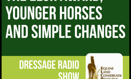426 – The ELCR Award, Younger Horses and Simple Changes