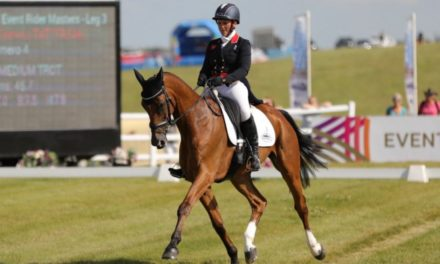 Eventing 466 by Bit of Britain – Nika Vorster, Gemma Tattersall, and Karim Laghouag with Liz and Paul
