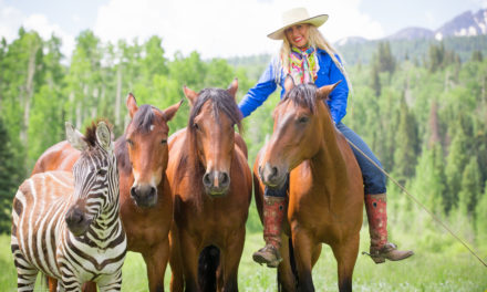 Horsemanship 97 by Omega Fields – Mustang Maddy Makes Her Mark and Mustang Adopters Gary and Jo-Ann Cutshall