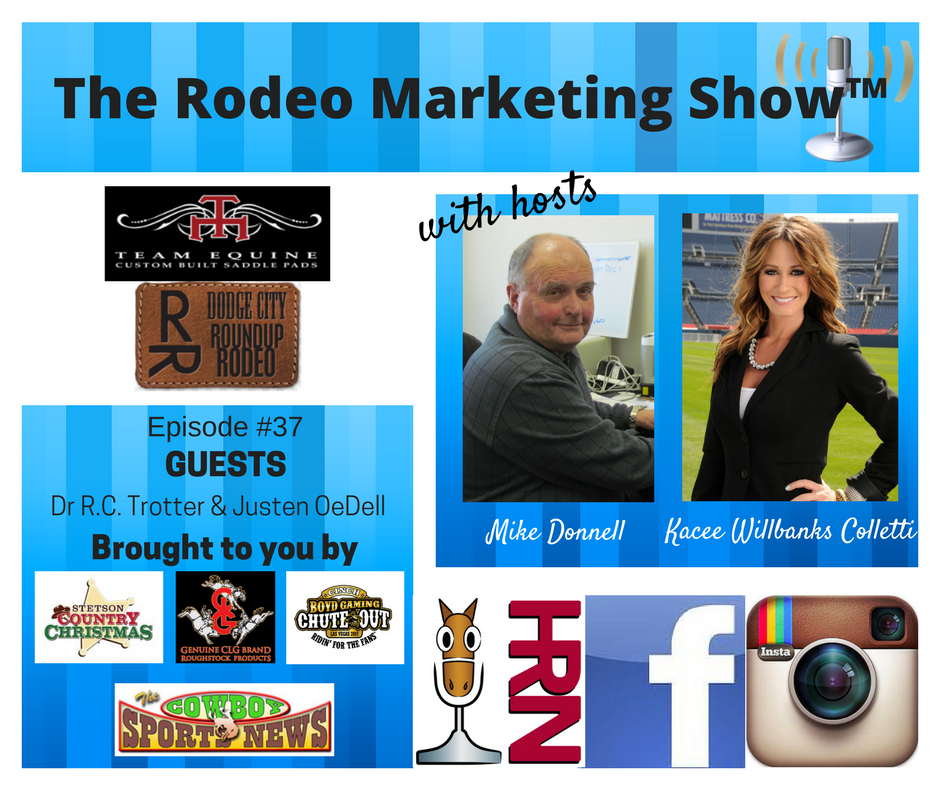 Rodeo 37 Dr R C Trotter President Of The Dodge City